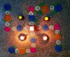 Diwali 2017 (ashwin kumar) Tags: diwali deepawali தீபாவளி bangalore fireworks crackers colors sky bengaluru suncity saoa suncityapartments rangoli kolam karnataka india in