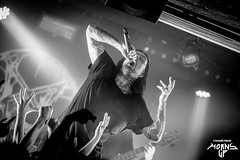 Thy Art is Murder (mzagerp) Tags: thy art is murder concert gig show metal deathcore death after burial cj mcmahon pigalle backstage osullivan by mill lights black white canon