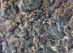 Split Rock Pebbles Refracted