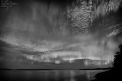 Monochrome (Winglet Photography) Tags: wingletphotography northernlights auroraborealis georgewidener stockphoto solarstorm aurora geomagnetic earth sun canon 7d storm solar georgerwidener night nighttime longexposure dark inspiration lights colors sky heclaisland gullharbour manitoba canada lakewinnipeg reflection clouds