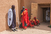 Guards at the Sultan's Palace (Hannes Rada) Tags: niger sultans palace guards agadez