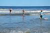 Sue & The Kids In The Ocean (Joe Shlabotnik) Tags: beach july2017 higginsbeach violet sue 2017 maine boogieboard everett ocean proudparents afsdxvrzoomnikkor18105mmf3556ged
