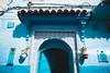 No pics here (Leo Hidalgo (@yompyz)) Tags: chefchauen marruecos المغرب almaġrib morocco blue village street