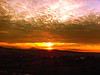 sunset (Uscè (OFF,OFF!!!!!)) Tags: sunset skyline sky panorama coloros land landscape iphone nature eugenio coppari jesi countryside country red clouds photo exposure marche italy appennino sun fire