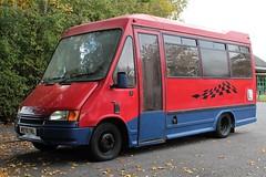M970 TKL (Nivek.Old.Gold) Tags: 1995 ford transit 230 dormobile m16fl minibus 2496cc diesel