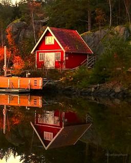 Upside Down in Sweden
