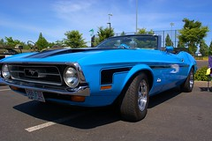 Ford Mustang Convertible (swong95765) Tags: 1972 ford mustang convertible car automobile classic blue vintage