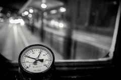 Speed up (debbykwong) Tags: hongkong hongkongstreet hongkongnight tramway speedup bnw bnwcity bnwplanet bnwmood bnwstreet bnwlife urbannight lifeinblackandwhite leica leicaq leicaqtyp116 leicacamera leicaphoto