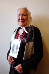 Nora Cortinas, Co-founder of the Mothers of Plaza de Mayo. (benpadley) Tags: argentina disappeared argentinasolidaritycampaign mothersofplazademayo junta