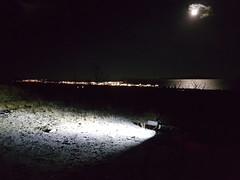 Nightride (GeirB,) Tags: varanger vadsø vadsoe vadso norway østfinnmark scandinavia fatbike sykkeltur trening barentsregionen bad6000 varangerfjorden swix nightride training outdoor uteliv 70north arctic moonlight garmin gps lakeboots norrøna nordnorge northernnorway noruega norwegen sweethelmet 26x48 surly bud lou fattie firm diadora lys light
