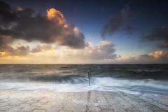 Storm (michel1276) Tags: nordsee northsea meer wasser water coast küste himmel sky clouds wolken sunset sonnenuntergang