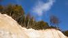 Rügen, chalk cliffs (unukorno) Tags: sassnitz mecklenburgvorpommern deutschland rügen island cliffs kreidefelsen kreideküste coast trees bäume autumn herbst cloud wolke balticsea ostsee danger gefahr