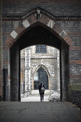 Art College Arch [306/365 2017] (_ _steven.kemp_ _) Tags: norwich georges street art college