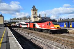 Lincoln Virgin (davidvines1) Tags: railroad rail train locomotive diesel hst class43 lincoln station virgin vtec