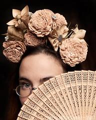 Calavera Steampunk ~ Mona Longueville (Christopher Mark Perez) Tags: steampunk steamgirl victoriangothic dayofthedead allhallowseve death halloween paris france model fashion strobist parisstrobist elinchrombx500ri