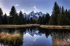 Still Waters (RH Miller) Tags: rhmiller reedmiller landscape mountains water reflection tetons schwabacherlanding grandtetonnationalpark wyoming usa