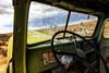 Wormholes (KPortin) Tags: windows bulletholes truck abandonedtruck grantcounty hww international dashboard