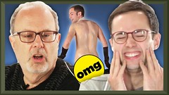 Fathers React To Extreme Try Guys Videos • Fatherhood: Part 5 (openwatch) Tags: buzzfeed dad day drag eugene exam fatherhood fathers funny guys halloween keith labor laugh ned pain performance prostate react sexy simulator sperm stripping test try video watch weird zach
