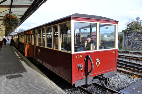 Ffestiniog Railway Carriage 100