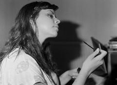 Mari (Olga. S) Tags: tri x film bronica etrsi hackney london monochrome 120film