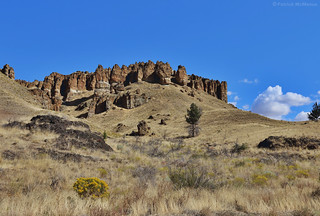 John Day Fossil Beds - Clarno Unit - Oregon