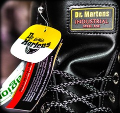 DM's INDUSTRIAL (CWhatPhotos) Tags: cwhatphotos icon 7a18 size 11 sticker safety eyelets canon 5d iii industrial doc docs doctor marten martens air wair airwair bouncing soles original eos close up seven hole lace boots boot drmartens docmartens dms cushion sole yellow stitching yellowstitching foot laced laces photo photos picture pictures with that have dr comfort cushioned wear feet black foto fotos which contain footwear photography steel toe cap capped safe protective dm 10hole leather