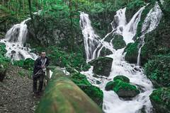 Sušec falls, Ilirska Bistrica (rlubej) Tags: notranjska waterfalls streams forest people
