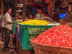 LR-009 (hunbille) Tags: india mumbai birgittemumbai32015lr dadar phool galli phoolgalli flower market bazaar bombay