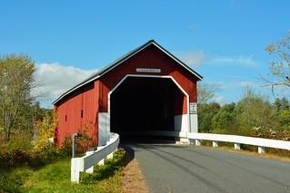 Carleton (Carlton) Covered Bridge, NH