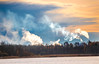 industrial smoke (Shantasphotos) Tags: industrial smoke shade landscapes clouds tint tone nuance colours fume steam reek
