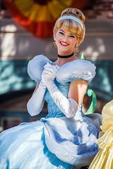 Cinderella in Mickey's Soundsational Parade - Disneyland (GMLSKIS) Tags: anaheim california disney princess cinderella mickeyssoundsationalparade