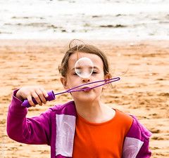 Bubble (philbarnes4) Tags: portrait dslr philbarnes bubble child girl blowingbubbles nikond5500 face