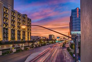 Sunrise on the Strip