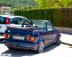 Volkswagen Golf cabriolet mk1 ibiza Spain 2017 (seifracing) Tags: volkswagen golf cabriolet mk1 ibiza spain 2017 seifracing spotting security europe cars cops car vehicles voiture photography photos seif vehicle