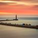 Dawn in Roker Pier (Uillihans Dias) Tags: sunderland england unitedkingdom gb