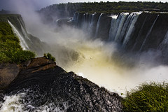 Iguazu - Devil's Throat |  Iguaçu - Garganta del Diablo (MLopht | Dortmund) Tags: argentinien argentina misiones iguaçu iguazu nationalpark parque nacional devils throat garganta diablo wasserfall fluss wasser landschaft canon eos 7d mkii eos7d sigma 816mm iguazú himmel