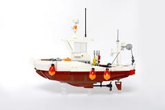 Lego Fishing Boat Project - atana studio (Anthony SÉJOURNÉ) Tags: ideas fishing boat project bricks briques construction bateau bretagne afol moc creator atana studio anthony séjourné