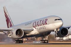 B777 | A7-BFA | AMS | 20110109 (Wally.H) Tags: boeing 777 boeing777 b777 a7bfa qatarairways ams eham amsterdam schiphol airport