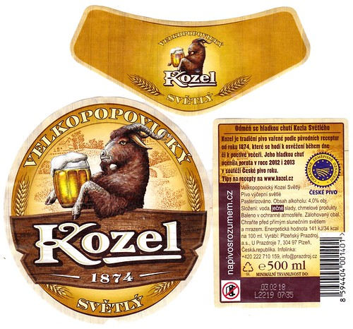 Kozel pale, Velké Popovice, 2017