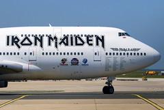 Air Atlanta Icelandic Boeing 747-428 'Iron Maiden' c/s TF-AAK (Manuel Negrerie) Tags: tfaak boeing b747400 rock livery dickinson bruce edforceone spotting cdg pariscdg jumbo aviation widebody jetliners airliners