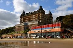 Grand Hotel & Olympia Leisure (Sam Tait) Tags: grand hotel scarborough yorkshire england beach sand seaside coast coastal north bay amusements ornate architecture victorian