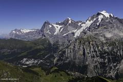 Triumvirate (Daniel Moreira) Tags: schilthorn piz gloria mürren mönch jungfrau eiger mountains snow sky canon7d markii switzerland schweiz suisse svizzera helvetia ch
