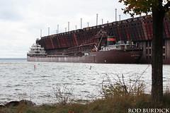 keb101217dkscn_rb (rburdick27) Tags: kayeebarker interlakesteamshipcompany marquette lakesuperior oredock fallcolors scenicmichigan