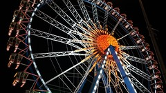 Oktoberfest. - Munich, Germany (gokturkyuksel) Tags: oktoberfest2017 fest nightshot wheel night germany munich oktoberfest