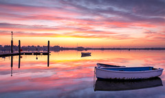 Harbour Light (Solent Poster) Tags: emsworth harbour sunrise sunset calm pentax k1 2470mm