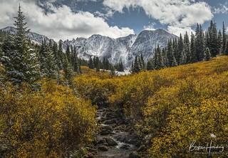 Winter Arrives in the Rockies - Mayflower Gulch, Summit County, Colorado