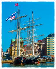 Wylde Swan & Lord Nelson (Timothy Valentine) Tags: 2017 0817 fromtheboat vacation tallship saintjohn newbrunswick canada ca