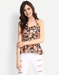 Floral Gemina Peplum Tops for Women (neha.thakur35) Tags: topsforwomen tops for girls women
