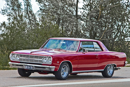Chevrolet Chevelle Malibu 283 Sport Coupé 1966, model 1965 (2579)