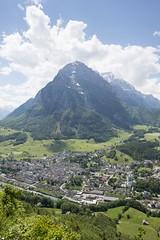 Glarus, Kantonshauptort mit Vorderglärnisch